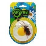 """1toy """"Мелкие пакости"""" Лизуны яичница с тараканом, блистер 19х1,8х25,5 см"""