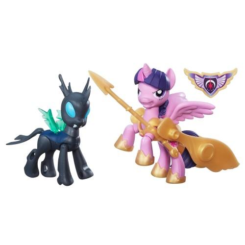 """2 фигурки с артикуляцией """"Guardians of Harmony"""" My Little Pony Hasbro"""