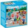 Детский сад: Дети с воспитателем по ПДД Playmobil 5571pm