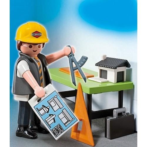 Дополнения: Архитектор с кульманом Playmobil 5294pm