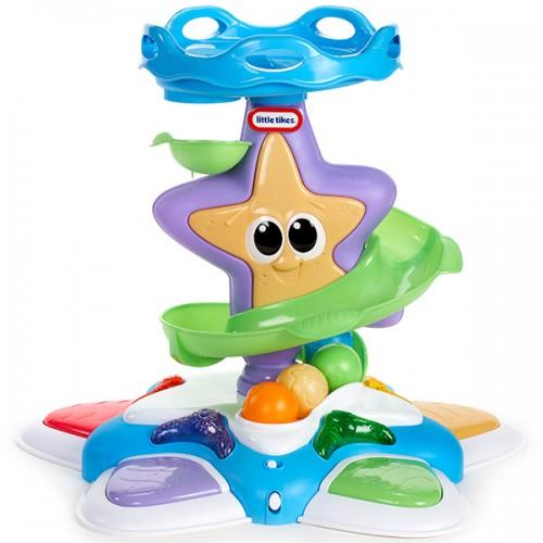 Игрушка развивающая Морская звезда с горкой-спиралью, звук., свет. эф-ты Little Tikes