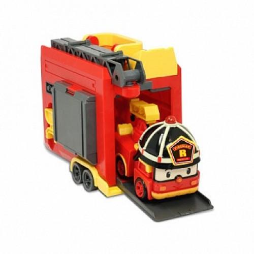 Кейс с трансформером Рой 12,5см с гаражом Робокар Поли (Robocar Poli)