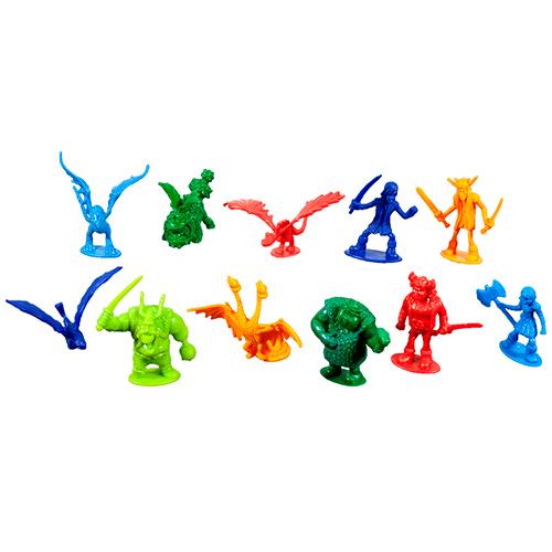 Набор маленьких драконов и викингов 25 штук в банке Spin Master