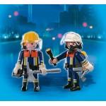 Пожарная служба: Команда пожарных спасателей Playmobil (Плеймобил)