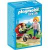 Детский сад: Мама с близнецами в коляске Playmobil 5573pm