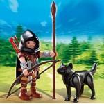 Дополнение: Охотник с волком Playmobil (Плеймобил)