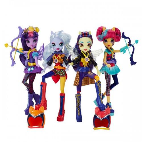 Equestria Girls кукла спорт Темномолнии My Little Pony Hasbro