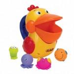 Голодный пеликан д/ванной, пластик KS Kids