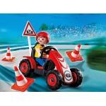 Новые фигурки: Мальчик на гоночной машинке Playmobil (Плеймобил)