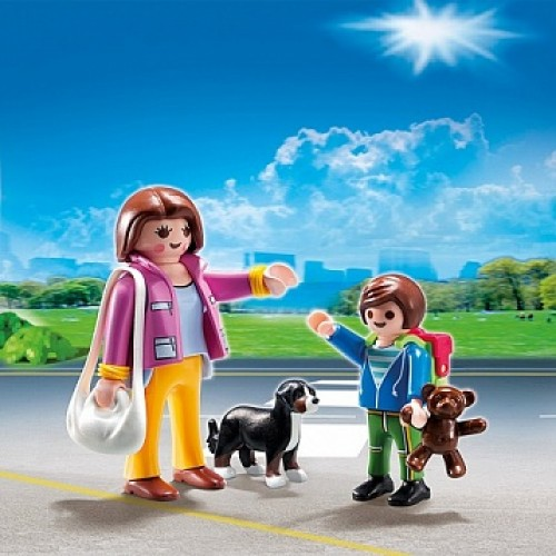 Особняки: Набор Мама и школьник Playmobil 5513pm