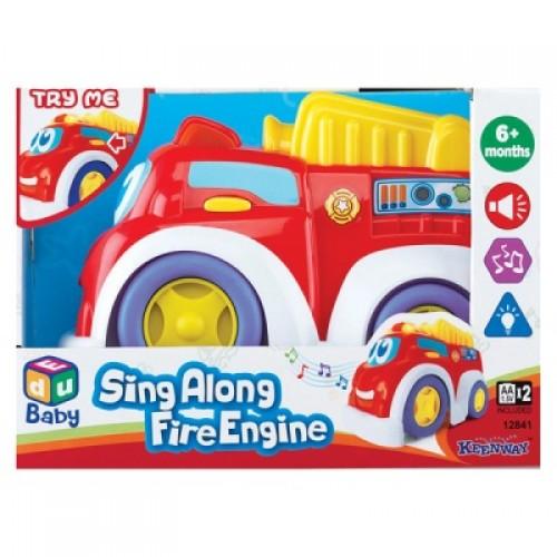 Веселая машинка (пожарная) Keenway 12841