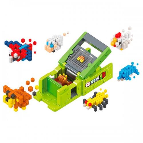 "3D Набор для творчества Машинка для создания 3D фигурок ""3D (3Д) Принтер"" Qixels (квикселс)"