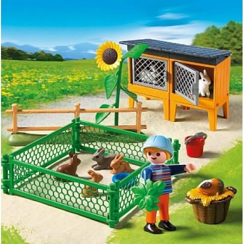 Ферма: Клетки для зайцев Playmobil 5123pm