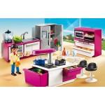 Особняки: Современная дизайнерская кухня Playmobil (Плеймобил)