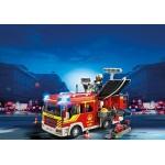 Пожарная служба: Пожарная машина со светом и звуком Playmobil (Плеймобил)