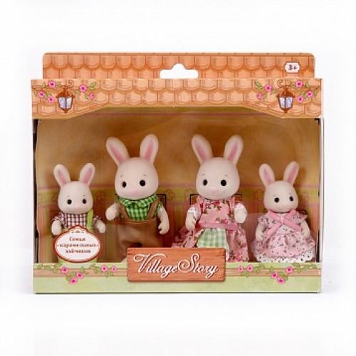 Семья карамельных кроликов Village Story