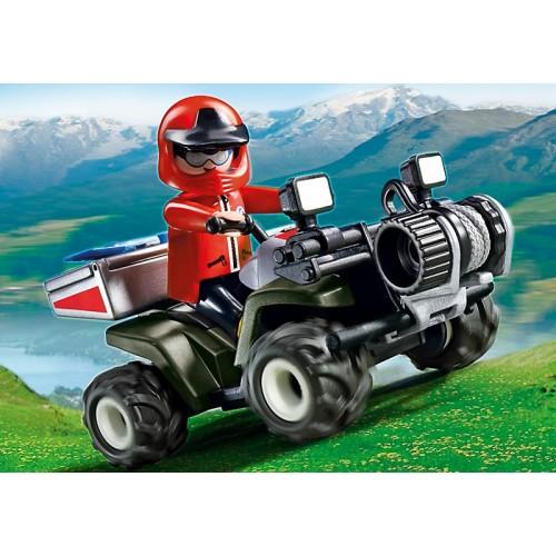 В горах: Спасательный квадроцикл Playmobil (Плеймобил)