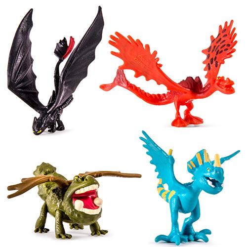 Фигурки драконов (в мягкой упаковке) Spin Master