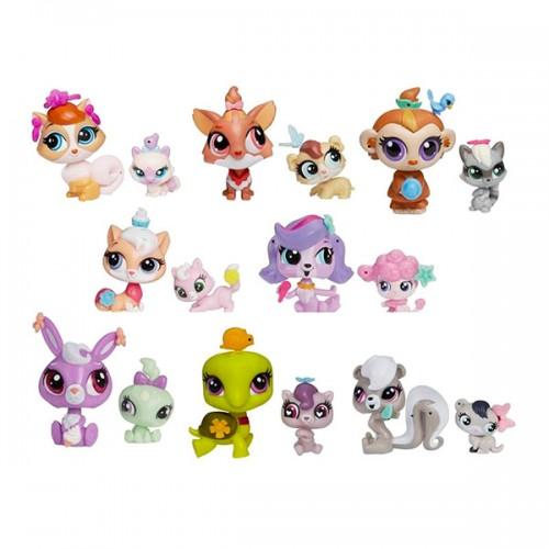 Игрушка Зверюшка и ее малыш (в ассорт.) Littlest Pet Shop Hasbro