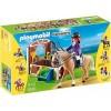 Конный клуб: Лошадка для прогулок и загон Playmobil 5520pm