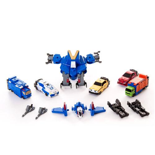 Набор Voov-G (робот-истребитель, 5 автомобилей) Bandai (Бандай)