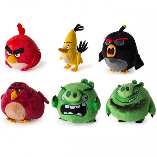 Плюшевая птичка 13см (в ассортименте) Angry Birds Spin Master