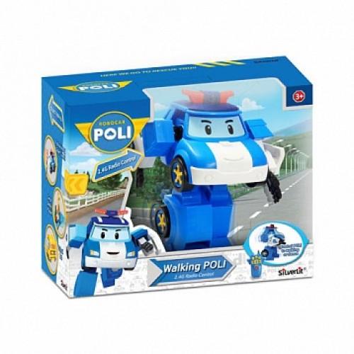 Робот Поли на радиоуправлении (31 см). Управляется в форме робота Robocar Poli Silverlit 83090