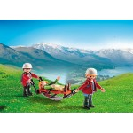 В горах: Спасатель с тросом Playmobil (Плеймобил)