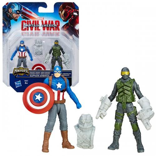 Игровой набор из 2 фигурок Мстителей Hasbro