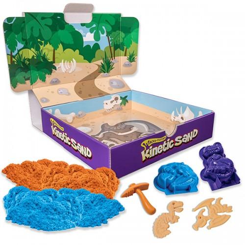 Кинетический песок для лепки Игровой набор c формочками, 340 грамм