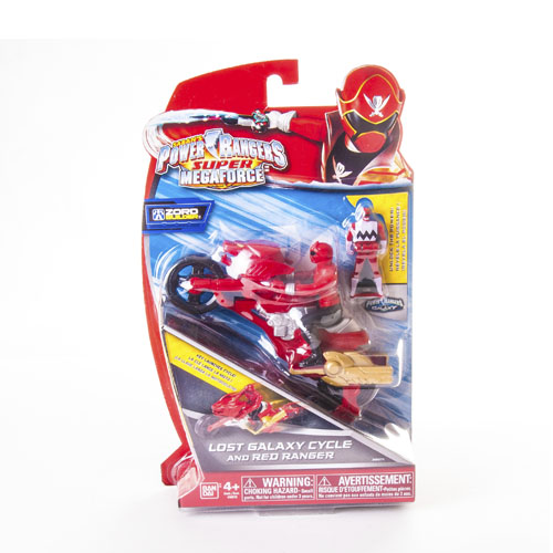 Могучие рейнджеры Мотоцикл с фигуркой Power Rangers Samurai Bandai (Бандай)