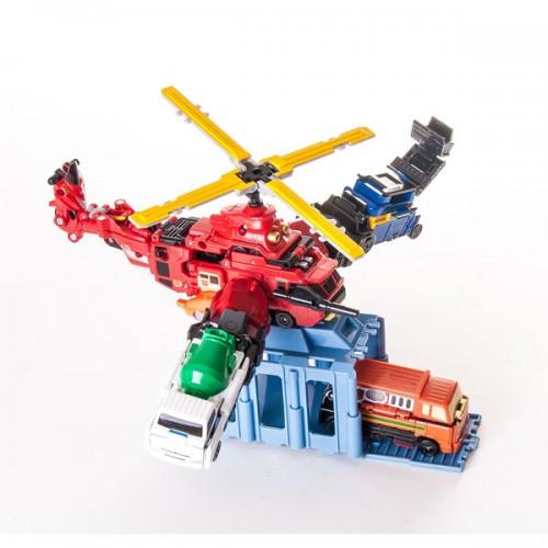 Набор VooV-G пожарно-спасательный вертолет-трансформер Bandai (Бандай)