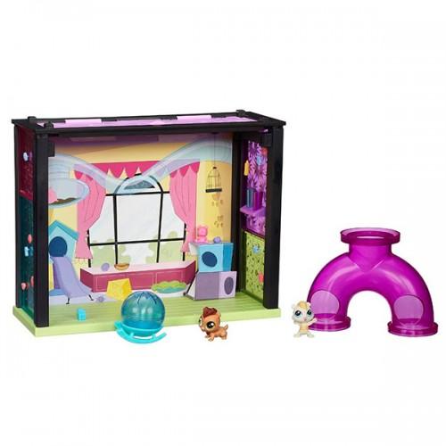 Стильный мини-набор Littlest Pet Shop Hasbro