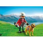 В горах: Спасатель с собакой Playmobil (Плеймобил)