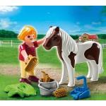 Дополнение: Девочка и пони Playmobil (Плеймобил)