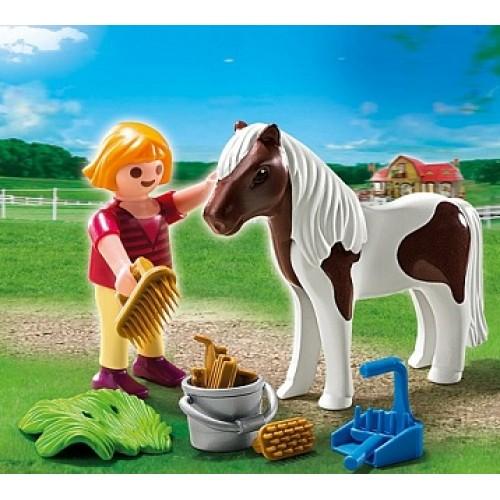 Дополнение: Девочка и пони Playmobil 5291pm