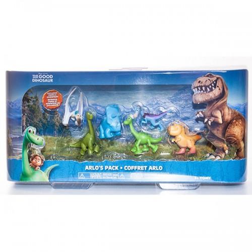 Игровой набор 6 мини-фигурок Good Dinosaur Хороший динозавр Tomy