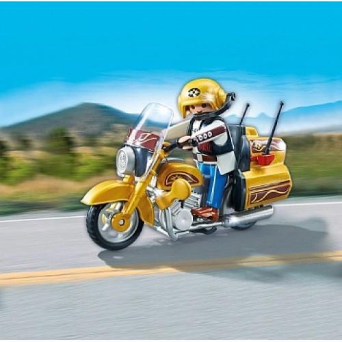 Коллекция мотоциклов: Крейсерский мотоцикл Playmobil 5523pm