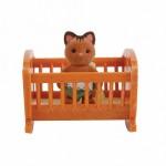Малыш котенок с кроваткой Village Story