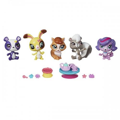 Мини-игровой набор Littlest Pet Shop Hasbro