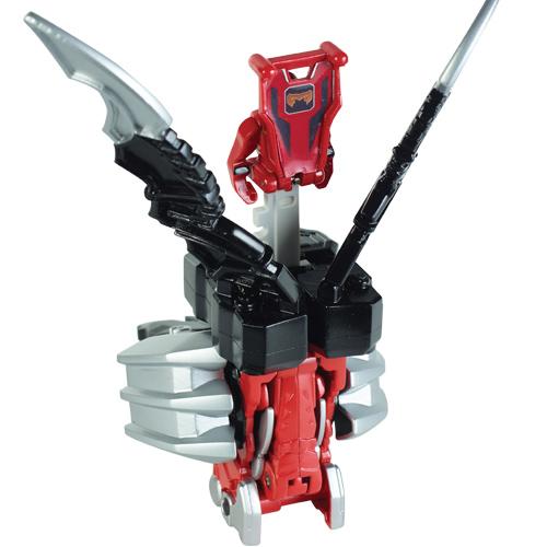 Могучие рейнджеры Набор Зорда и фигурки рейнджера 10 см Power Rangers Samurai Bandai (Бандай)