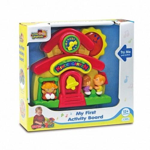 Обучающая панель Мишка на паровозике Hap-p-Kid 4217T