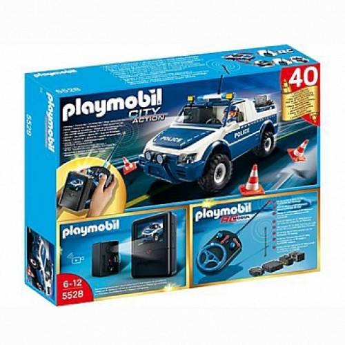 Полиция: Полицейская машина с пультом и камерой Playmobil 5528pm