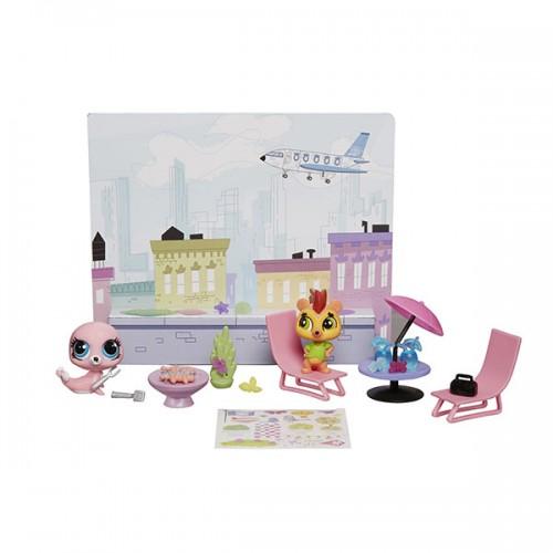 Стильный тематический игровой набор Littlest Pet Shop Hasbro
