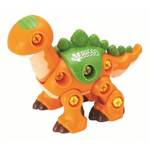 Динозавр с шуруповертом (оранжевый) Hap-p-Kid 4352T