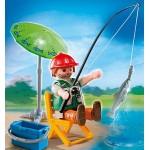 Дополнение: Рыбак со снастями Playmobil (Плеймобил)
