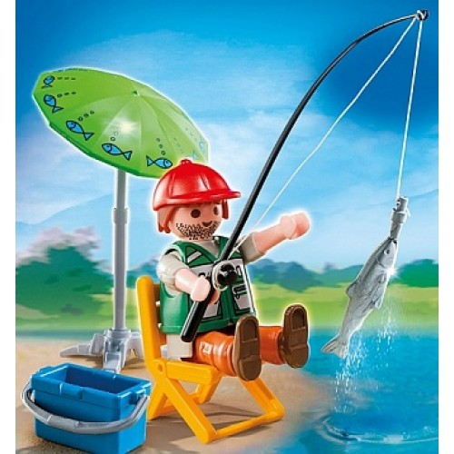 Дополнение: Рыбак со снастями Playmobil 4779pm