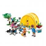 Каникулы: Семья и палатка Playmobil (Плеймобил)