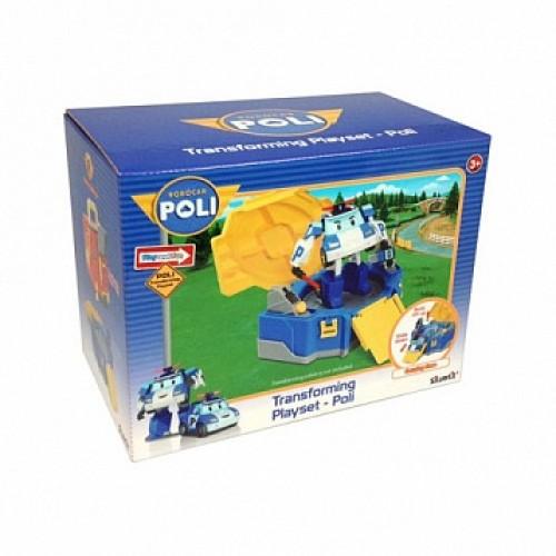 Кейс для трансформера Поли Robocar Poli Silverlit 83076