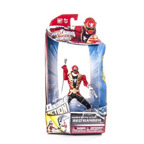 Могучие рейнджеры Рейнджер на джойстике 16 см Двойной удар в асс Power Rangers Samurai Bandai (Бандай)